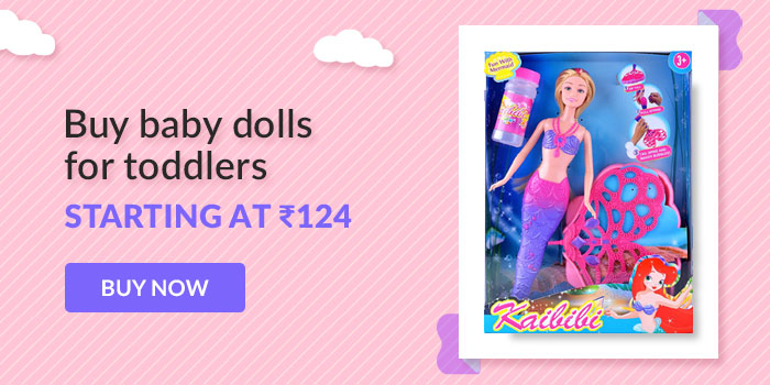 Buy baby dolls for toddlers Starting at Rs. 124