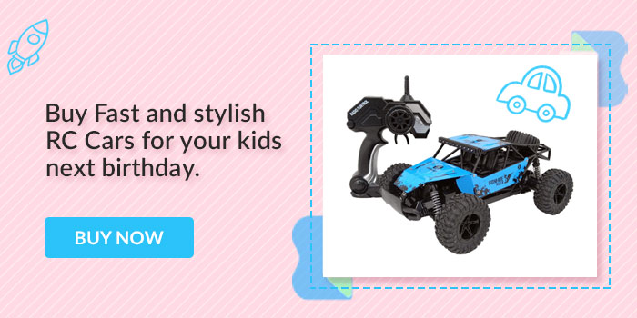 Buy Fast and Stylish RC cars for your kids next birthday