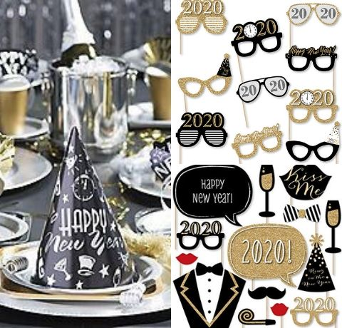 New year party ideas, New year party themes, New year party ideas at home, New year 2019 theme, New year celebration ideas, Unique new year's themes, New year decoration ideas, New year celebration ideas