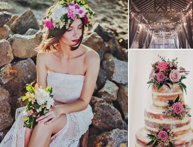 bohemian wedding themes
