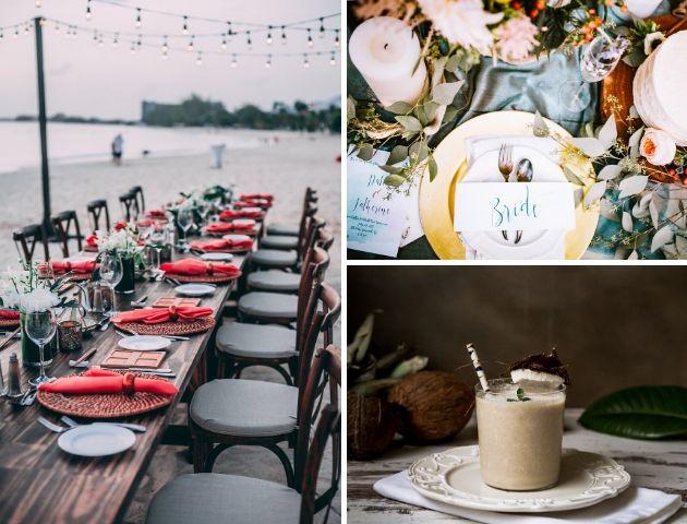 Tropical wedding themes