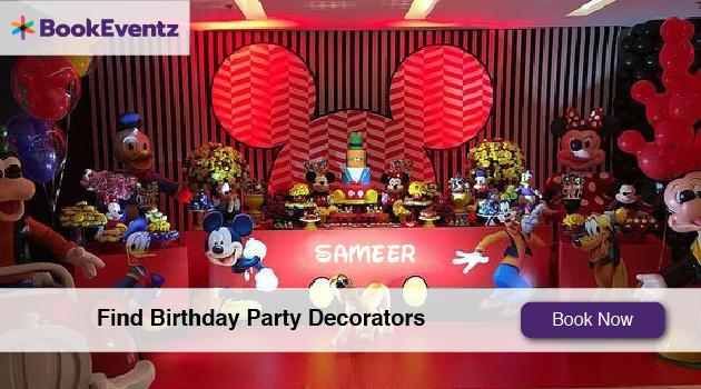 Birthday Decorators