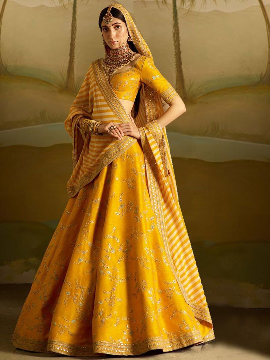 Yellow Lehenga Colour