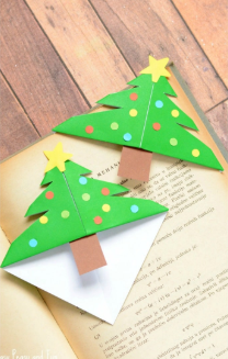 Christmas DIY Bookmarks