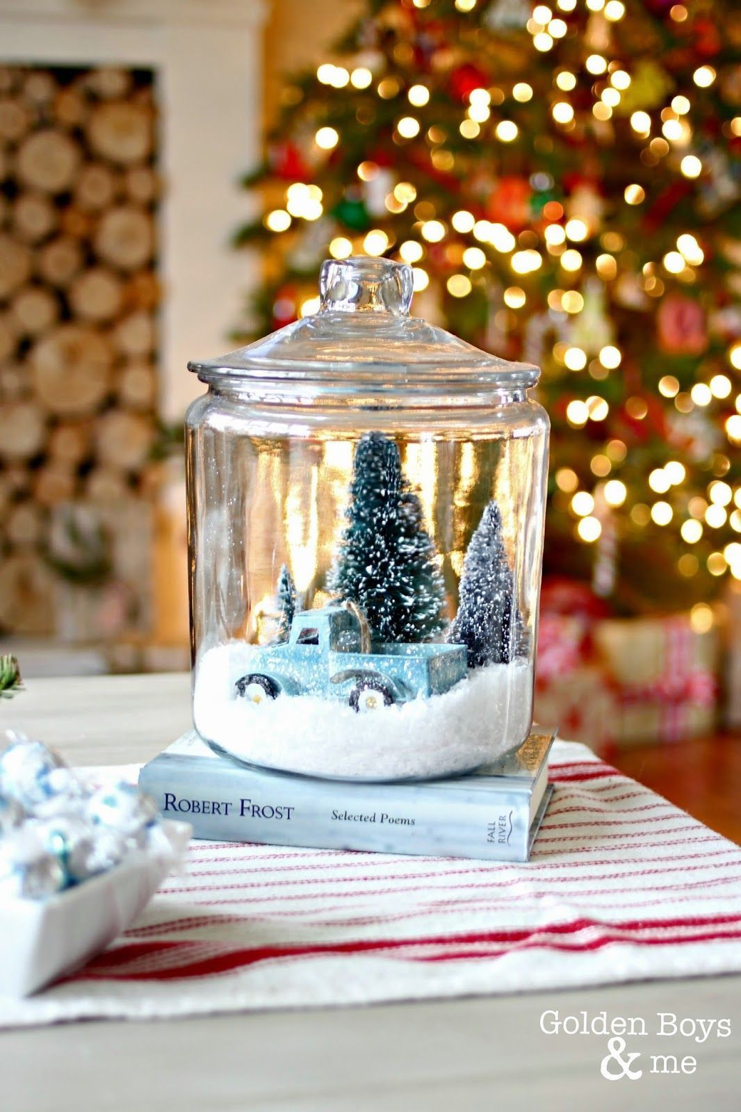Christmas DIY Snow Globes