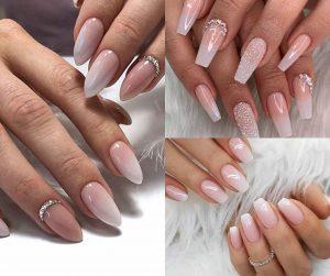Decent bridal nail art ideas