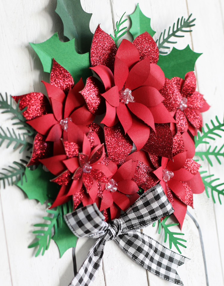 Christmas DIY flowers