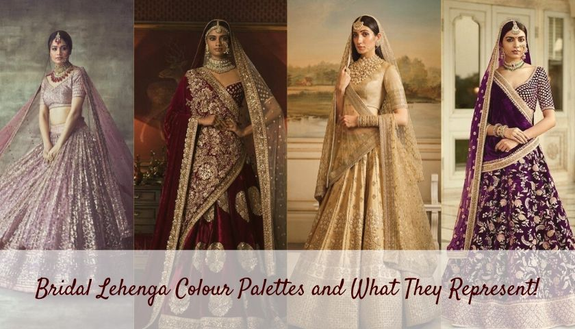 Lehenga Colour Palettes for Brides and What They Represent