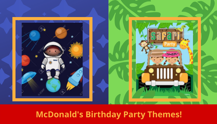 McDonald's birthday party themes