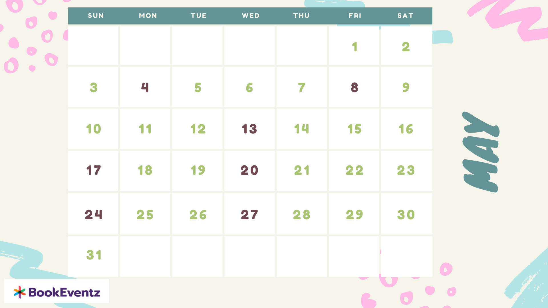 May Namkaran Muhurat Dates 2020