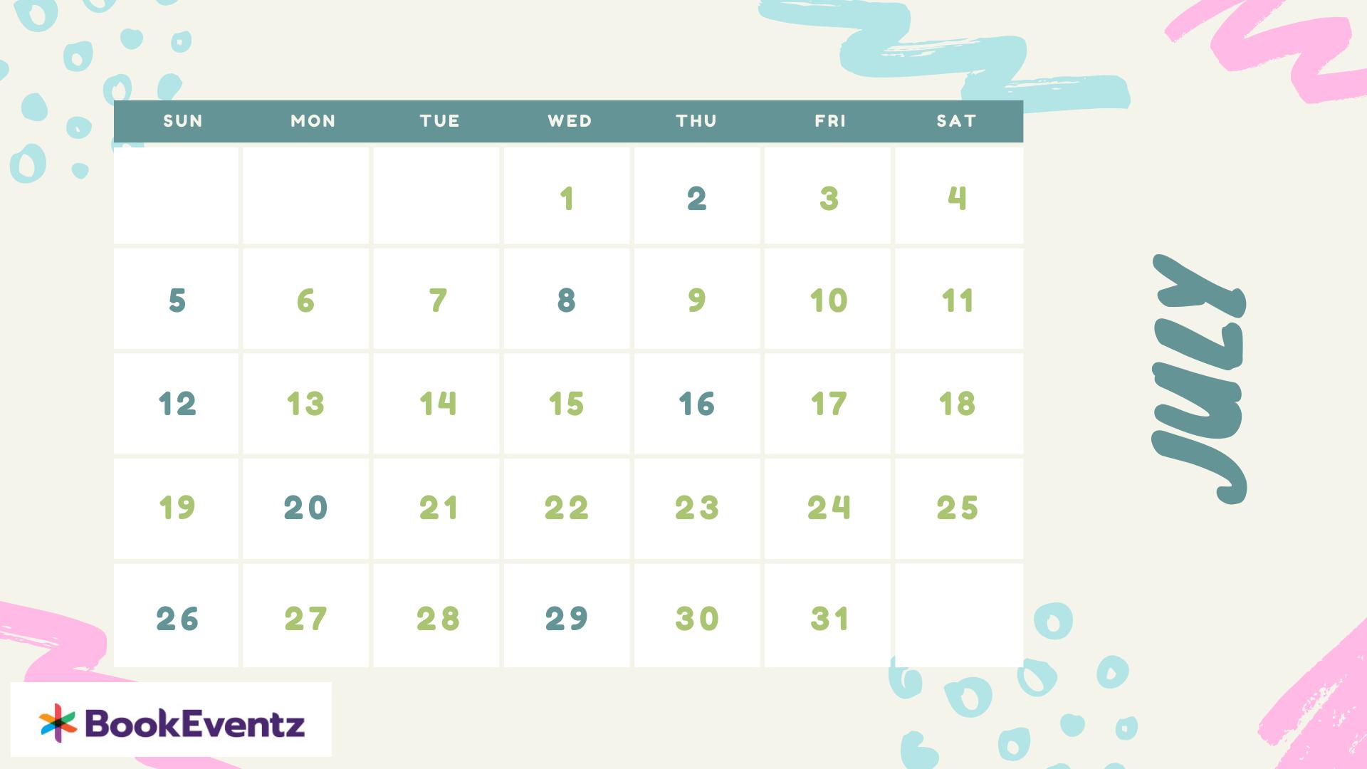 July Namkaran Muhurat Dates 2020