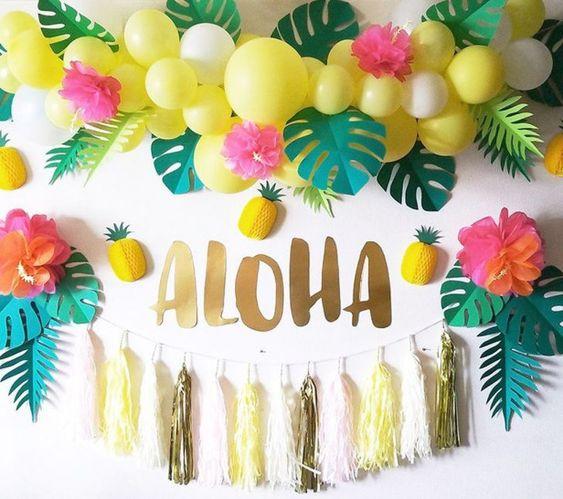 Kitty Party Themes, Hawaiian Theme