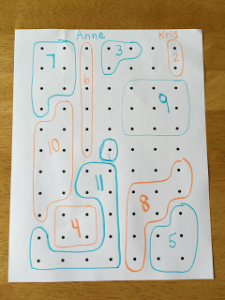 dots, boxes and dice, 10 Pen and Paper Games for your Party
