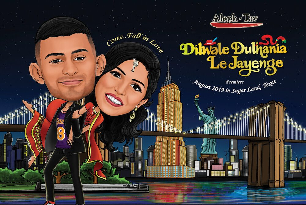 movie poster 7 awesome ideas for digital wedding invitation for your wedding