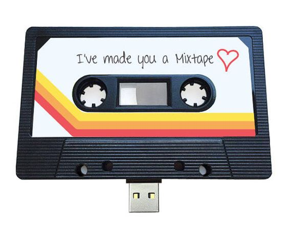 Modern day USB mix-tape