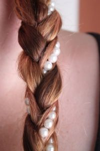 Braids With Pearls