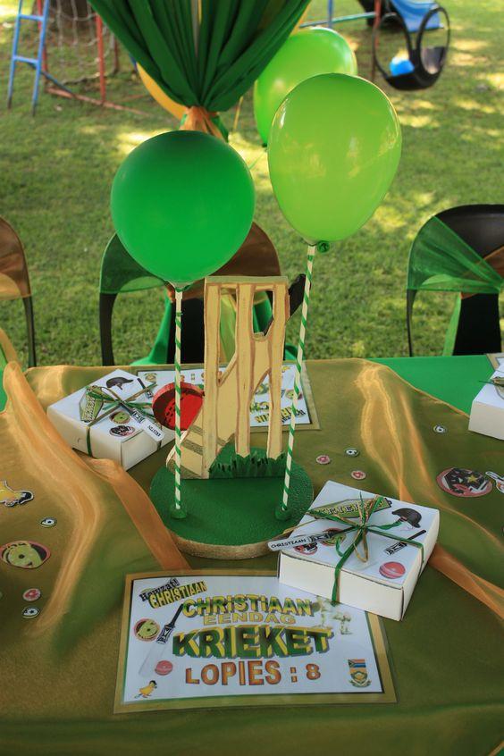 outdoors birthdays, birthday party themes, marketplace party theme, Cricket-themed birthday party, outdoor party, birthday party themes