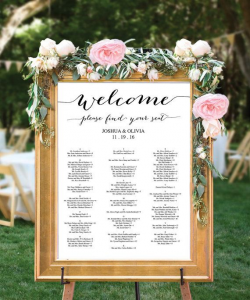 Pre-Assign tables to each guest to maintain social distance