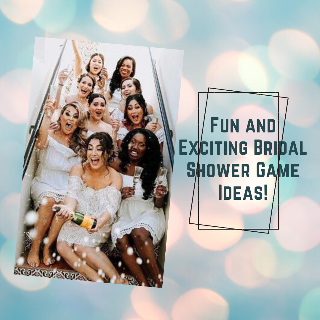 Bridal Shower Games That Are Super Easy And Fun To Play With Your Ladies
