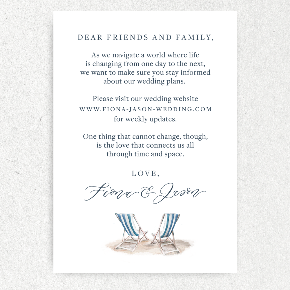How To Create A Courteous COVID Wedding Invitation ...