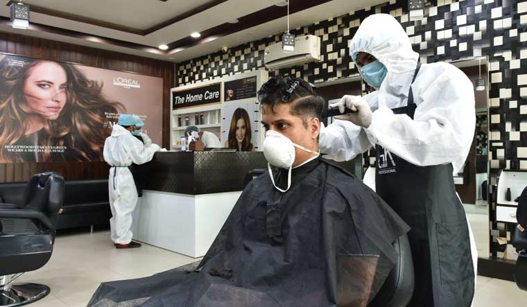 Personal Protective Equipment for hair and beauty salon