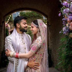 Anushka Sharma and Virat Kohli Wedding Look
