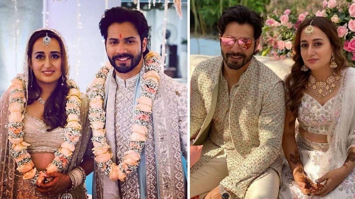 Varun Dhawan married Natasha Dalal