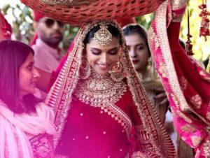 Deepika Padukone and Ranveer Singh Wedding Look