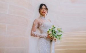 Priyanka Chopra and Nick Jonas Wedding Look