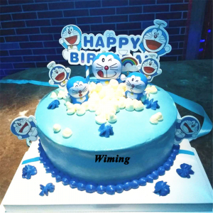 Doraemon Cake for Doraemon Theme Birthday Party