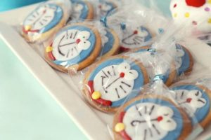 Doraemon Cookies for Doraemon Theme Birthday Party