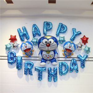 Birthday Banner for Doraemon Theme Birthday Party