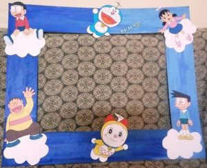 Doraemon Photoframe for Doraemon Theme Birthday Party