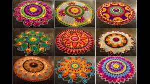Rangoli Competition, Diwali Party Game Ideas