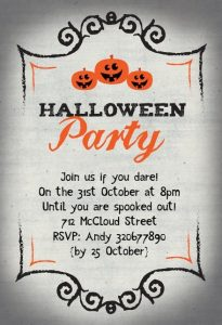 Send Invites for a Great Halloween Party