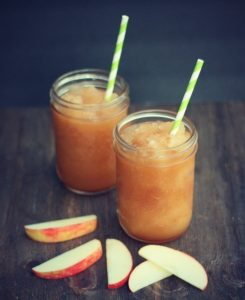 Apple Cider Slushie, Easy Mocktail Recipe Ideas