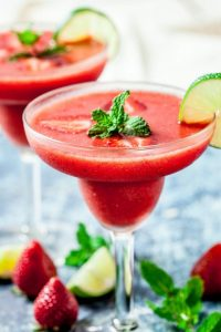 Strawberry Daiquiri, Easy Mocktail Recipe Ideas