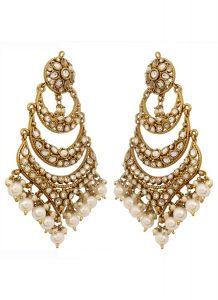 Chandelier Bridal Earrings Stones