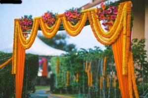 Marigold Flower Decor - Wedding Home Decor Ideas