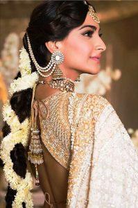 Bahubali Bridal Earrings pearls