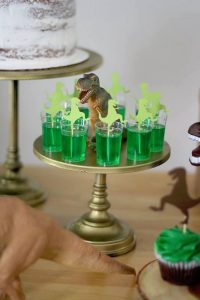 Dinosaur Themed Welcome Drink