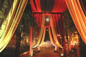 Drapes Decor - Wedding Home Decor Ideas