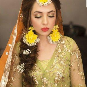 Haldi Flower Jewellery Designs- Karnphool