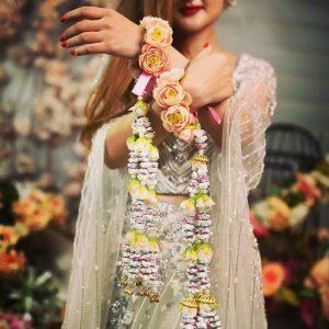 Haldi Flower Jewellery Designs- Kaleere