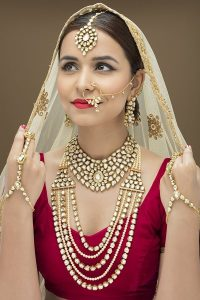 Polki and Kundan Bridal Necklace Designs