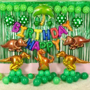 Dinosaur Themed Birthday Banner