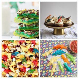 Dinosaur Themed Snacks