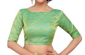 simple bridal blouse designs _elbow green