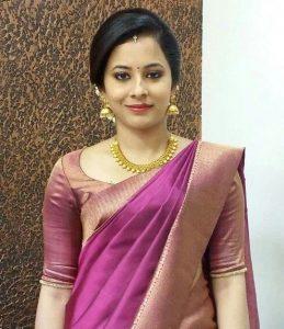 simple bridal blouse designs _elbow purple