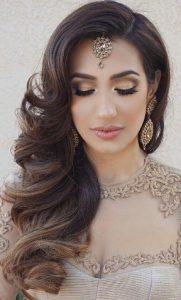 Bridesmaid hairstyles_medium side loose